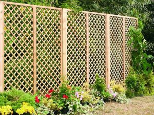 Diamond Trellis Fencing Coventry Warwickshire West Midlands