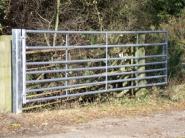 Steel Field Gate