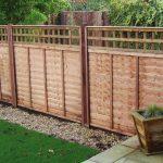 Overlap Trellis Fence Panels