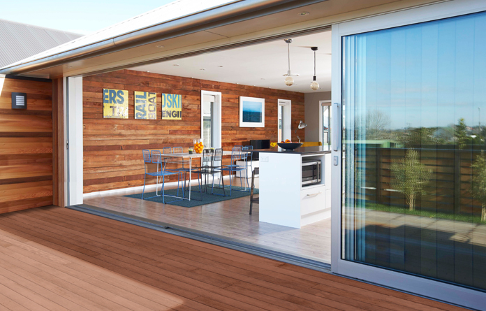 Adding value to your garden oakdale fencing for Sliding glass doors nz