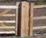 Garden Gate Posts
