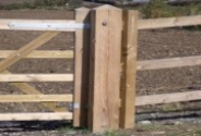 Timber Fence & Gate Posts
