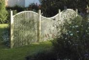 Garden Trellis Fencing