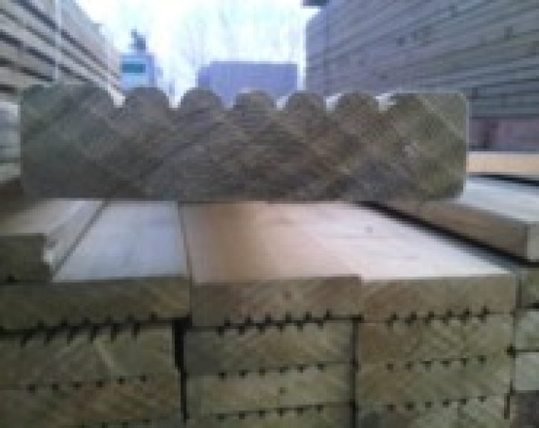 Timber decking boards oakdale fencing for Tanalised decking boards