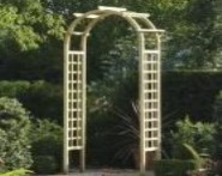 Wooden Rose Arch Oakdale Fencing