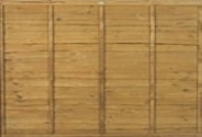Larch Lap Fence Panels