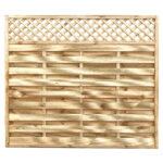 Horizontal-lattice-top