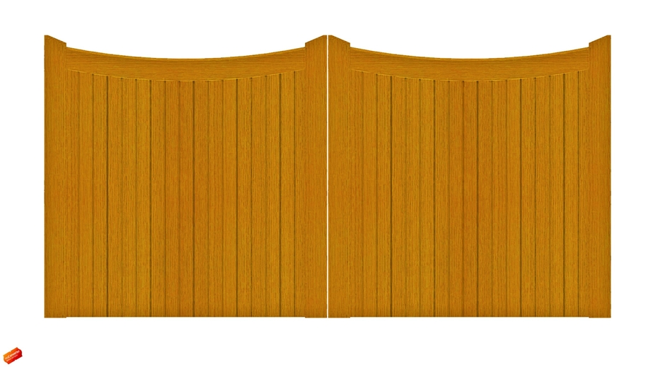 Lincoln Gate Softwood Oakdale Fencing