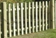 Picket Fence Panels