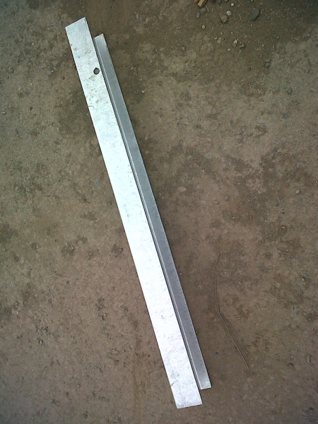 Concrete Pole Barriers : Concrete in barrier h post oakdale fencing