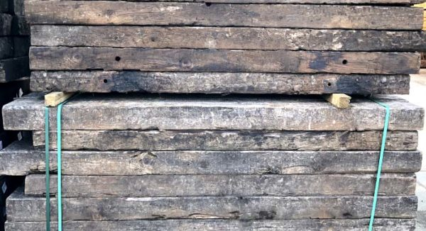 reclaimed railway sleepers stock