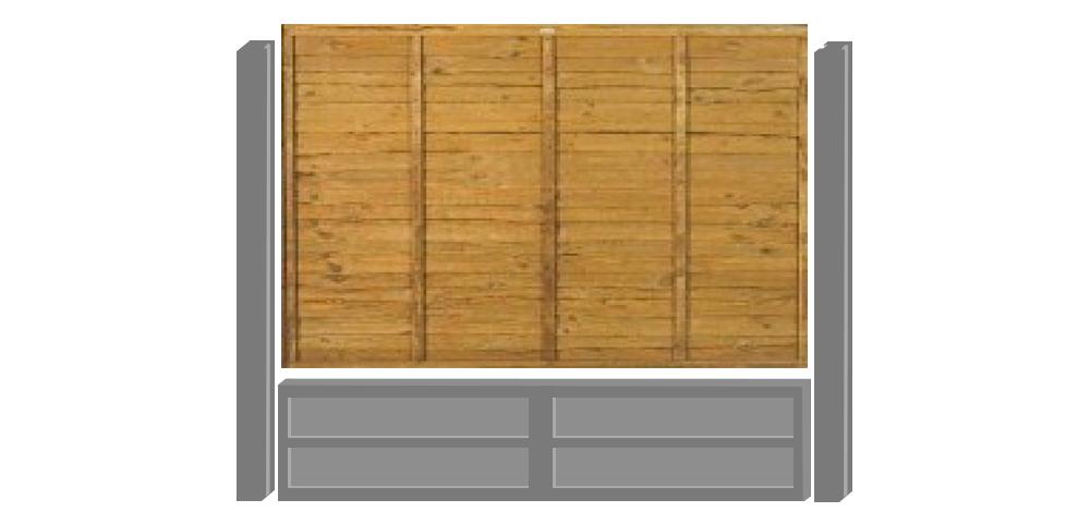 concrete gravel boards installation