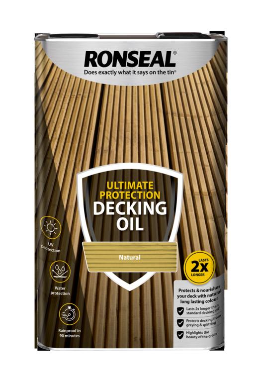 nATURAL DECKING OIL